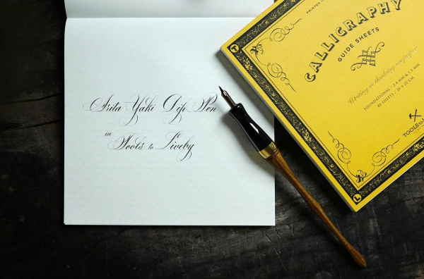 Tools To Liveby Calligraphy Practice Notebook Chancery